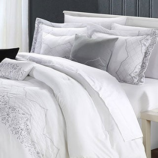 Grace White 12-piece Comforter Set