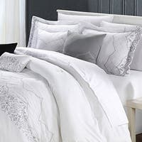 Copper Grove Kelob Basin White 12-piece Comforter Set