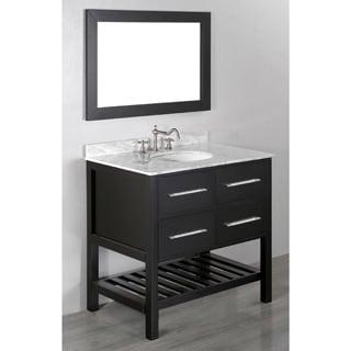 36-inch Bosconi SB-250-3 Contemporary Single Vanity