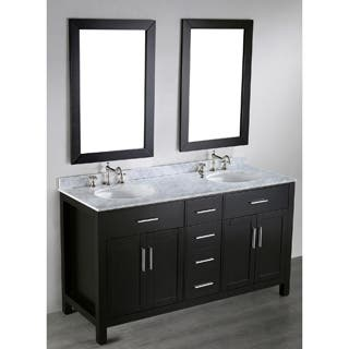 bosconi sb 252 4 60 inch contemporary double vanity with mirrors