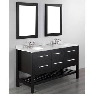 60-inch Bosconi SB-250-5 Contemporary Double Bathroom Vanity