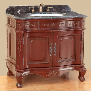 37-inch Bosconi T-3803 Classic Single Vanity