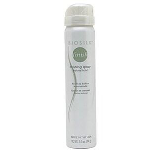 Biosilk Finishing Spray Natural Hold 2.6-ounce Hair Spray