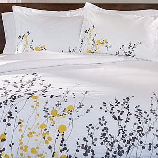 Miranda Haus Reed 3-piece Cotton Duvet Cover Set