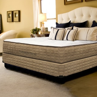 Natures Rest Embrace Plush Latex Queen-size Mattress and Foundation Set