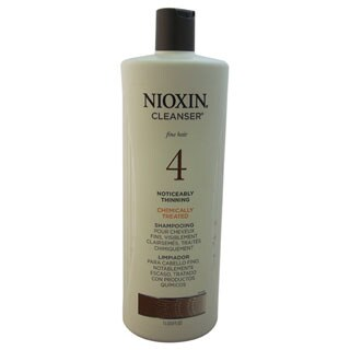 Nioxin System 4 33.8-ounce Cleanser for Fine, Thinning Hair