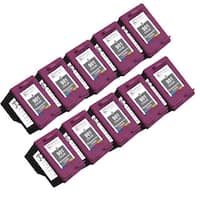 Sophia Global Remanufactured Color Ink Cartridge Replacements for HP 901 (Pack of 10)