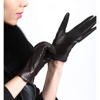 Touch Screen Women's Lambskin Leather Texting Gloves|https://ak1.ostkcdn.com/images/products/P15912742a.jpg?impolicy=medium
