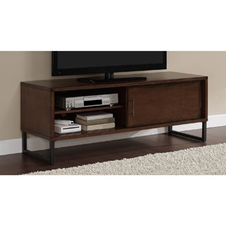 Stones U0026 Stripes 54 Inch Breckenridge Walnut Entertainment Center