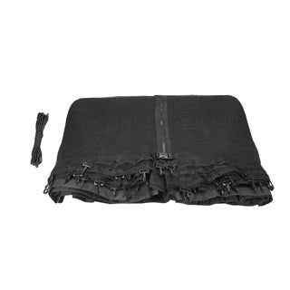 Upper Bounce Round Trampoline Replacement Net with Top Ring Enclosure System