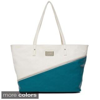 Nine West 'Block Out' Color Block Tote Bag