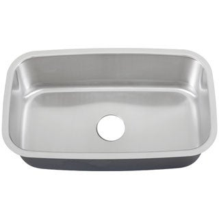 Ticor 32-inch 16-gauge Stainless Steel Undermount Kitchen Sink