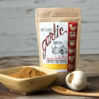 Spicy Garlic Rub with Chipotle Chile Peppers