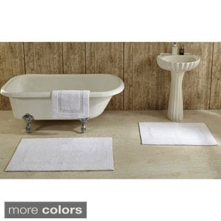 Lux 100-percent Cotton Tufted Reversible Rug or Bath Mat by Better Trends