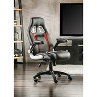 Furniture of America Enzo Height-adjustable Padded Chair