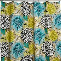 Petals Multicolor Shower Curtain