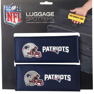 NFL New England Patriots Original Patented Luggage Spotter (Set of 2)