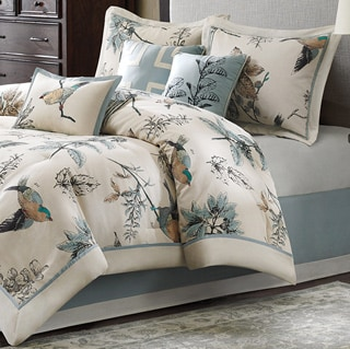 Madison Park Pierce 7-piece Cotton Twill Matelasse Comforter Set