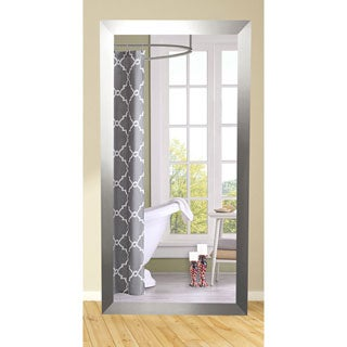 American Made Rayne Silver Floor Mirror