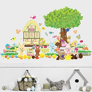 Easter Interactive' Wall Decal Set