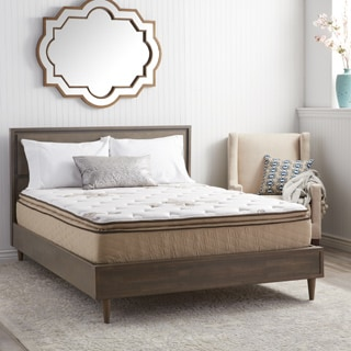 NuForm Quilted Pillow Top 11-inch Twin-size Plush Foam Mattress