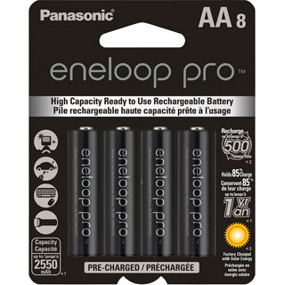 Panasonic eneloop Pro General Purpose Battery - Thumbnail 0