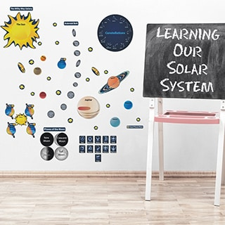 Peel, Play & Learn Solar System Wall Decal Set