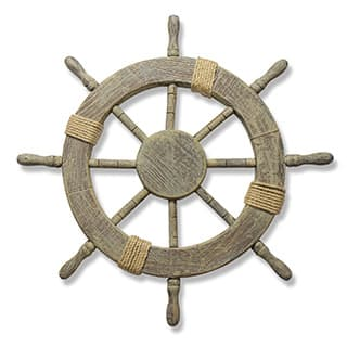 Large Marine Ship Wheel Nautical Decor|https://ak1.ostkcdn.com/images/products/P16169291L.jpg?impolicy=medium