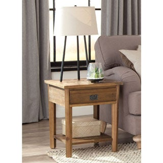 Alaterre Heritage Reclaimed Wood End Table