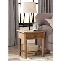 Pine Canopy Redwood Reclaimed Wood End Table