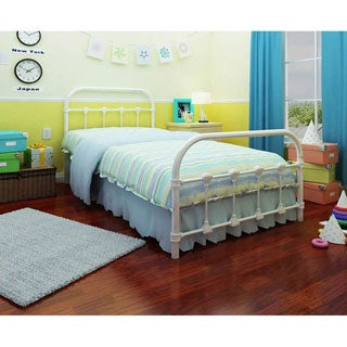 Rack Lindsay White Twin Bed