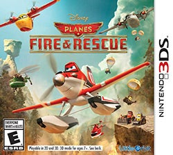 Nintendo 3DS - Planes 2 Fire & Rescue