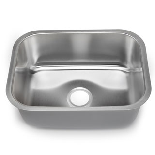 Designer Collection 16 Gauge Large Single Bowl Sink