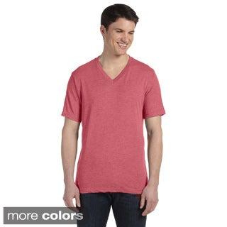 Bella Men's V-neck Triblend T-shirt