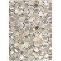 Michael Amini City Chic Silver Area Rug by Nourison - 5'3 x 7'5