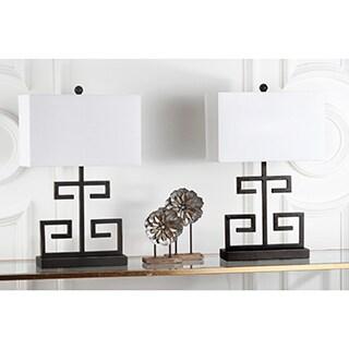 Safavieh Lighting 24-inch Bronze Greek Key Table Lamp (Set of 2)|https://ak1.ostkcdn.com/images/products/P16241018L.jpg?_ostk_perf_=percv&impolicy=medium