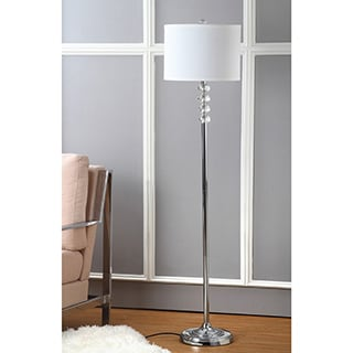 Safavieh Lighting 60 25 Inch Crystal Riga Floor Lamp Free Shipping Today Overstock Com