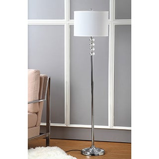 Safavieh Lighting 60.25-inch Crystal Vendome Floor Lamp