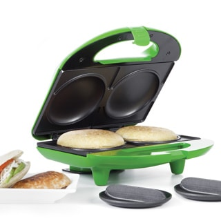 Holstein Housewares 2-in-1 Empanada and Arepa Multi Maker