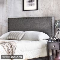 Gracewood Hollow Mendlesohn Adjustable Upholstered Headboard