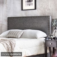 Gracewood Hollow Mendlesohn Adjule Upholstered Headboard