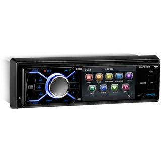 Boss Audio BV7348B Single-DIN 3.2 inch Screen DVD Player Receiver, Bl