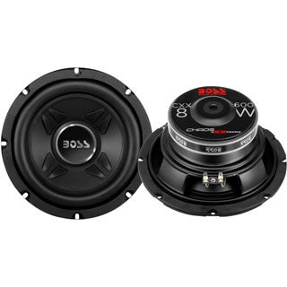 BOSS AUDIO CXX8 Chaos Exxtreme8 inch Single Voice Coil (4 Ohm) 600-wa
