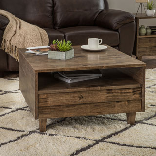 Clay Alder Home Venetian 2-way 2-drawer Brown/Grey Coffee Table