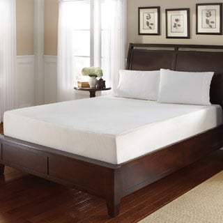 WHITE by Sarah Peyton 10-inch Queen-size Convection Cooled Gel Memory Foam Mattress