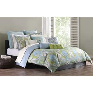 Echo Design Sardinia Green/ Blue Cotton Duvet Cover Mini Set https://ak1.ostkcdn.com/images/products/P16290326a.jpg?impolicy=medium