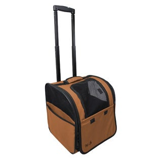 Pet Life Wheeled Travel Pet Carrier