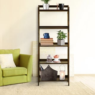 Stratford 5-shelf Folding Bookcase