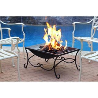27-inch Black Classic Fire Pit