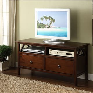 Linon Tiziano TV Stand Aged Cherry|https://ak1.ostkcdn.com/images/products/P16293556w.jpg?impolicy=medium